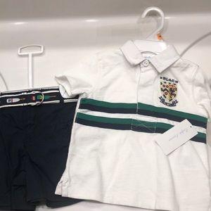 NWT Ralph Lauren outfit 18 months